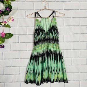 Flirty Green Dress